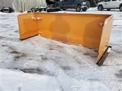 2018 Industrias America SP08 8' Wide Snow Pusher Skid Steer Attachment