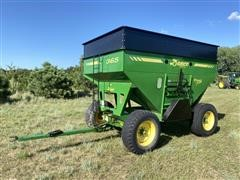 Demco 365 Posi Flow Gravity Grain Wagon