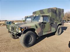 1992 AM General M998 HMMWV Utility Truck