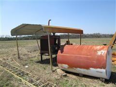Case IH 4391T Power Unit w/ Generator, Fuel Tank & Canopy