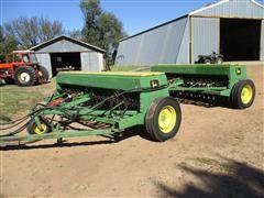 John Deere 8350 Grain Drills W/Fertilizer & JD 2-Drill Hitch