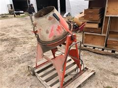 JB Foote 705 Electric Powered Cement Mixer