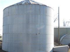 Coop 5 Ring Grain Bin With Perforated Floor