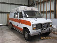 1986 Ford Econoline 350 XL Ambulance