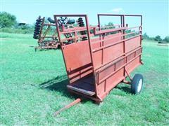 2 Wheel Loading Chute W/Adjustable Floor Height