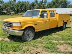 1994 Ford F350 Crew Cab Service Truck