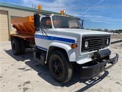 1986 Chevrolet C6500 S/A Salt Spreader Truck