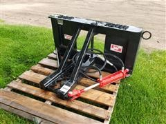 Industrias America Tree/Post Puller Skid Steer Attachment