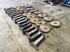 Groff Ag 2X2 Fertilizer Coulters And Brackets