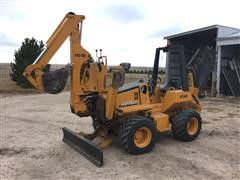 2007 Astec RT560 4WD Trencher Backhoe