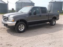 2002 Ford F250 Lariat Super Duty 4x4 Crew Cab Pickup
