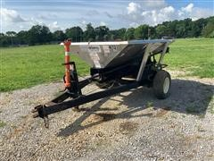 Adams 2-Ton Fertilizer Applicator Wagon