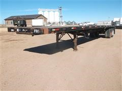 1974 Aztec 48' T/A Flatbed Trailer
