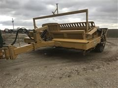 2014 Rome RP-150CFB Pivot Dump Fixed Blade Scraper