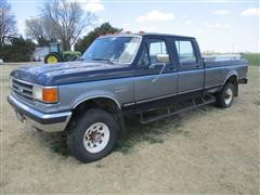 1991 Ford F350 XLT 4x4 Long Bed Pickup
