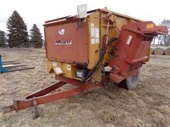 Knight 3250 Reel Augge Mixer Feeder Wagon W/Scale