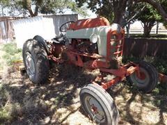 1958 Ford 900 2WD Tractor & Shredder