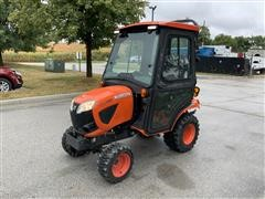 2017 Kubota BX2380 4WD Compact Utility Tractor W/Comfort Cab