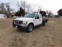 2004 Ford F250 XLT Super Duty 4x4 Extended Cab Pick Up