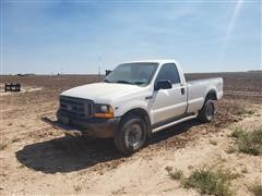 1999 Ford F250 4x4 Pickup (INOPERABLE)