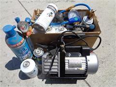 VP30 Rotary Electric Vacuum Pump & Refrigerant