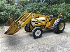 1978 International 2400B Industrial 2WD Tractor & Loader