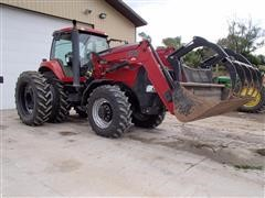 2009 Case International 180 Magnum Tractor With Loader