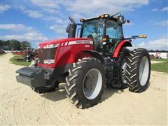 2013 Massey Ferguson 8650 MFWD Tractor