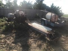 """Wagner Machine 30"""" Roller Mill w/ Discharge Auger"""