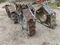 Pivot Wheels W/Steel Tracs