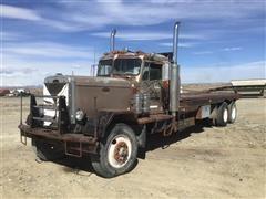 1966 Peterbilt 351 T/A Oilfield 'Rig-Up' Flatbed Truck