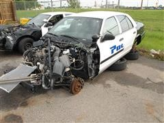 2009 Ford Crown Victoria Police Car For Parts
