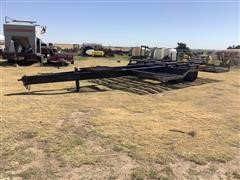 1981 Jantz LP-12 T/A Equipment Trailer