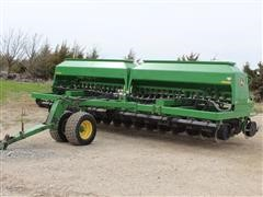 2005 John Deere 1590 No Till Drill With Fertilizer