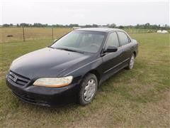 2000 Honda Accord 4 Door Car