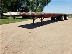 1996 Wilson CF900 T/A Flatbed Trailer