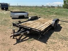 2012 Top Hat T/A Flatbed Car Trailer
