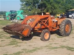 1960 Allis Chalmers D17 2WD Tractor W/ Loader