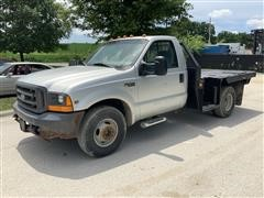 1999 Ford F350 Super Duty Flatbed Pickup