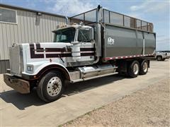 1986 Western Star Conventional 4900 T/A Silage/Grain Truck