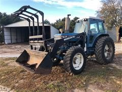 1983 Ford TW-15 MFWD Tractor W/Loader