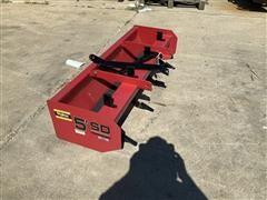 Mahindra 5' Box Scraper