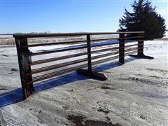J Bar H 24' Freestanding Livestock Panels
