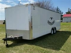 1982 Cargo Mate EH8 524TAZ 24' T/A Enclosed Trailer