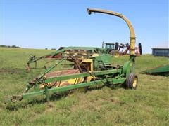John Deere 3800 Pull Type Forage Harvester W/3R30 JD Head