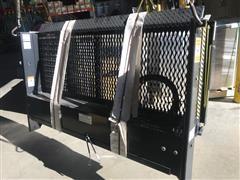 2015 Palfinger E48-72 Cable Gate Grated Platform Liftgate