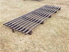 Homemade Cattle Guard