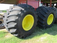 Firestone 23 DT 1250/45-32 Floatation Tires W/Rims