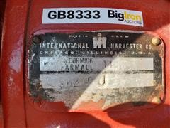 1975 Farmall 140 2WD Tractor W/Sickle Mower