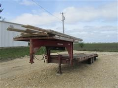 1979 Campbell Coach Flatbed Trailer
